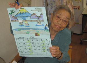 Tさんのカレンダー