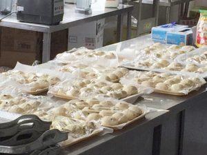 焼く前のパン生地